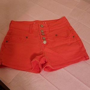 Aeropostale High-Rise Shorty Shorts